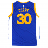Steph Curry Signed Golden State Warriors Adidas Swingman Navy Blue NBA Jersey-19810