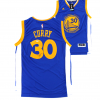 Steph Curry Signed Golden State Warriors Adidas Swingman Navy Blue NBA Jersey-0