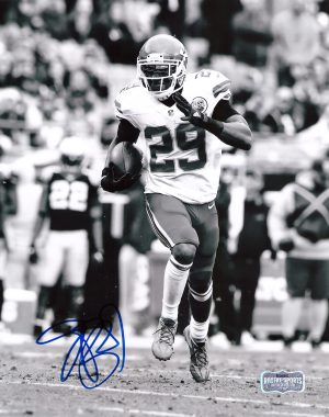 Eric Berry Signed Kansas City Chiefs 8x10 NFL Photo - Running-0