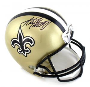 Adrian Peterson Signed New Orleans Saints Full Size NFL Helmet-0
