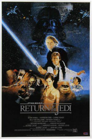 "Jeremy Bulloch ""Boba Fett"" Signed Star Wars Return Of The Jedi 24x36 Movie Poster - Alternate-0"