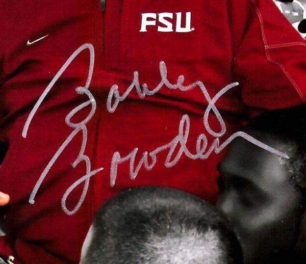 Bobby Bowden Signed Florida State University 8x10 NCAA Photo - Spotlight -21620