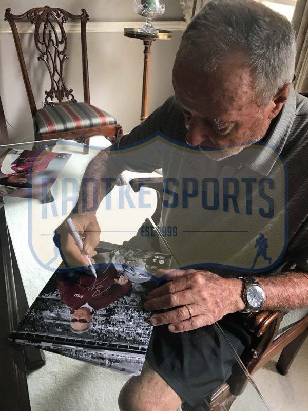 Bobby Bowden Signed Florida State University 8x10 NCAA Photo - Spotlight -21621