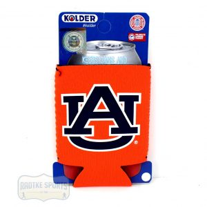 Auburn Tigers Officially Licensed 12oz Neoprene Can Huggie - Orange-0