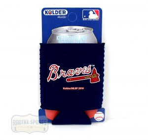 Atlanta Braves Officially Licensed 12oz Neoprene Can Huggie - Blue-0