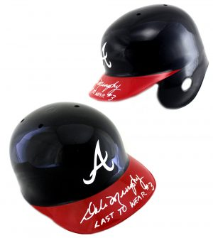 Dale Murphy Signed Atlanta Braves Rawlings MLB Batting Helmet - Last To Wear #3 Inscription-0