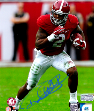 Derrick Henry Signed Alabama Crimson Tide Color 8x10 Photo - Red Jersey - Limited Edition 2 Of 22-0