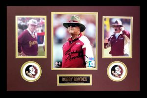 Bobby Bowden Signed Florida State Seminoles Framed 8x10 NCAA Photo - Color-0