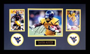 Tavon Austin Signed West Virginia Mountaineers Framed 8x10 Photo -0
