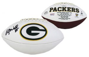 Wesley Walls Signed Green Bay Packers Embroidered NFL Football-0