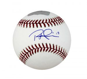 Rhys Hoskins Signed Philadelphia Phillies Rawlings Official MLB Baseball-0