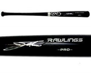 Jim Thome Signed Philadelphia Phillies Official Rawlings Black MLB Bat-0