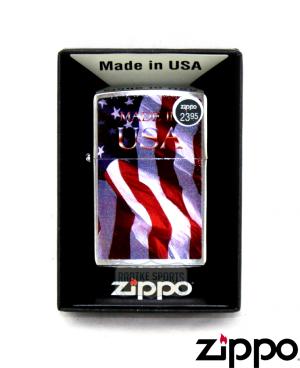 Zippo Made in USA Flag Lighter-0