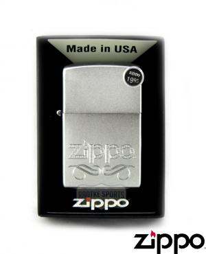 Zippo Scroll Design Lighter-0