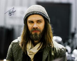 "Tom Payne Signed The Walking Dead Spotlight 16x20 Photo with ""Jesus"" Inscription-0"