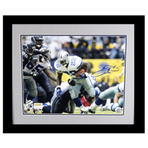 Emmitt Smith Signed Dallas Cowboys Framed 16x20 Photo - Rushing Record Shot-26716