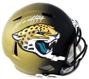 Myles Jack Signed Jacksonville Jaguars Riddell Speed Full Size NFL Helmet-0