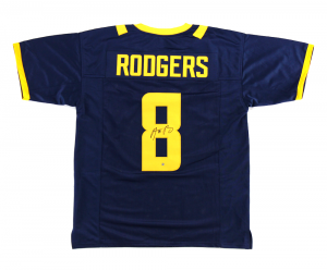 Aaron Rodgers Signed California Golden Bears Blue Custom Jersey-0