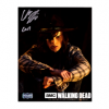 """Chandler Riggs """"Carl Grimes"""" Signed The Walking Dead 8x10 Photo - Nighttime-26236"""