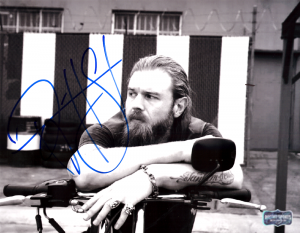 Ryan Hurst Signed Sons Of Anarchy 8x10 Photo - Sitting On Bike-0