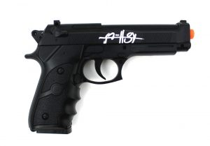 Ryan Hurst Signed Sons Of Anarchy Replica Black Beretta Airsoft Gun-26275