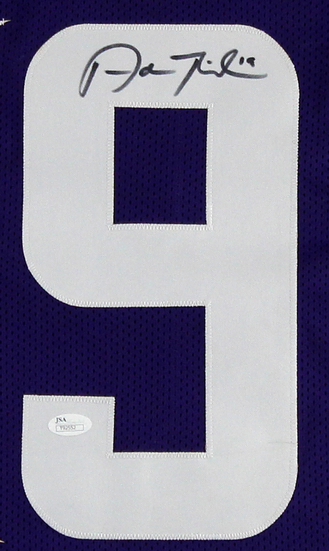 new product 11d05 18084 Adam Thielen Signed Minnesota Vikings Purple Custom Jersey