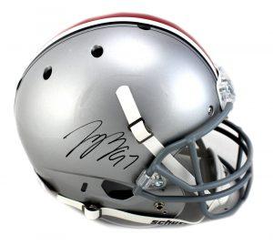 Joey Bosa Signed Ohio State Buckeyes Schutt Full Size NCAA Helmet-0