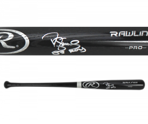 "Darryl Strawberry Signed Rawlings Engraved Big Stick Black Bat with ""83 ROY"" Inscription - New York Mets - JSA-0"