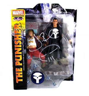 Jon Bernthal Signed Punisher Marvel Select Toy-0