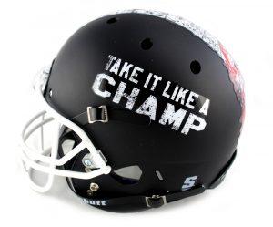 Jeffrey Dean Morgan Signed The Walking Dead Schutt Helmet-27193