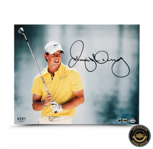 "Rory McIlroy Signed ""Waterfront"" 8x10 Photo-0"