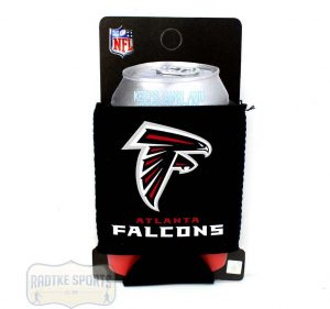 Atlanta Falcons Officially Licensed 12oz Neoprene Can Huggie - Black-0