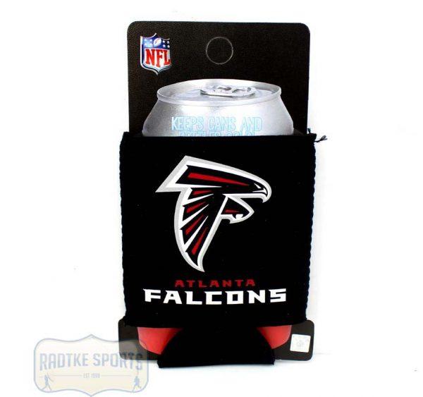 Atlanta Falcons Officially Licensed 12oz Neoprene Can Huggie - Black-0