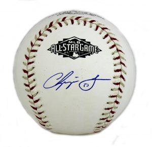 Chipper Jones Signed Atlanta Braves Official Rawlings 2011 All-Star Game Baseball-0