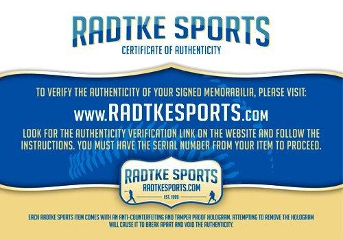 "Nolan Ryan Autographed/Signed Texas Rangers Rawlings Major League Baseball with ""HOF 99"" Inscription-7838"