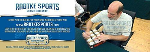 John Smoltz Autographed/Signed Atlanta Braves Rawlings Official Major League Baseball-7875