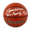 "Dominique Wilkins Signed IO Spalding Basketball with ""Human Highlight Film"" Inscription - Atlanta Hawks-0"