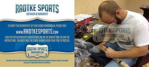 Evan Gattis Signed/Autographed Atlanta Braves Rawlings Big Stick Bat Blonde-7866