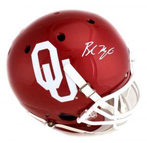 Baker Mayfield Signed Oklahoma Sooners Schutt Full-Size Helmet-0