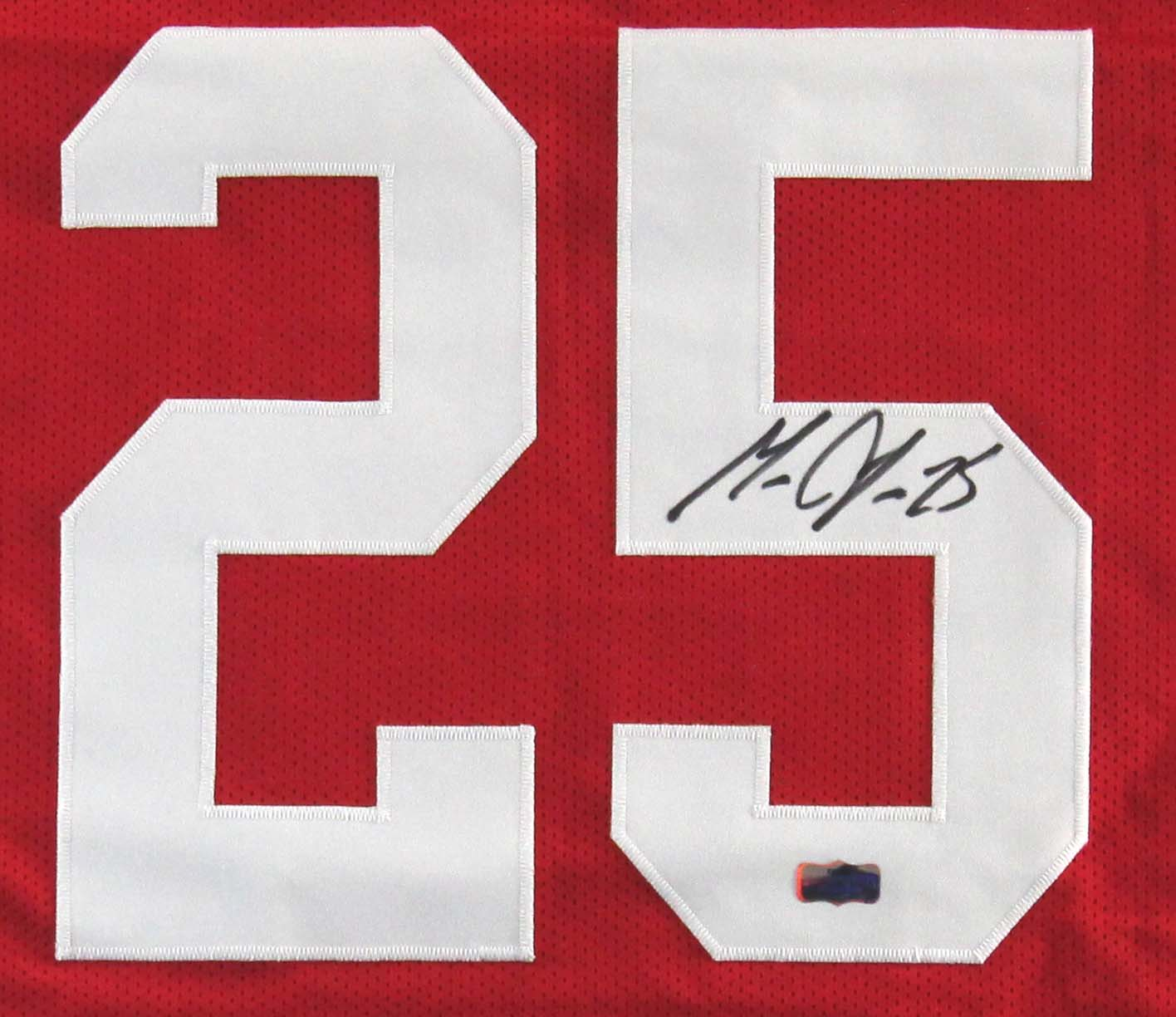 best sneakers 51c6f d860a Melvin Gordon Signed Wisconsin Badgers Custom Red Jersey
