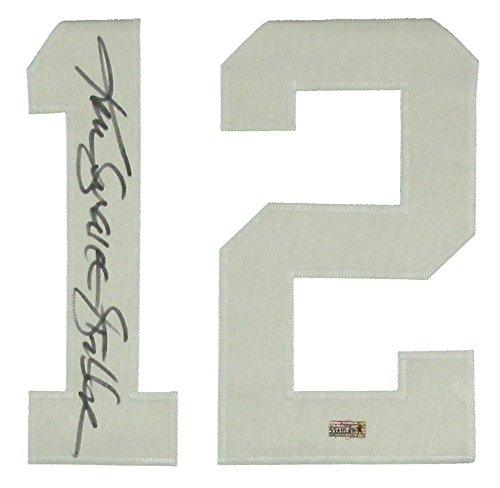 more photos 21e03 74742 Ken Stabler Autographed/Signed Oakland Raiders Black Custom NFL Jersey with