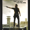 Chandler Riggs Signed The Walking Dead Full Size Framed Poster - Season 3-0