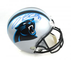 Steve Smith Sr Signed Carolina Panthers Riddell Full Size NFL Helmet-0