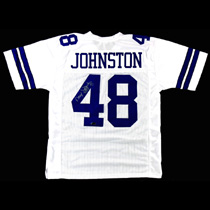 official photos 0f169 56c6e Daryl Johnston Signed Dallas Cowboys Custom White Jersey With
