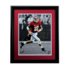 AJ McCarron Signed Alabama Crimson Tide Framed 16x20 NCAA Photo - Red Jersey-0