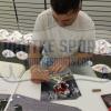 AJ McCarron Signed Alabama Crimson Tide Framed 16x20 NCAA Photo - Red Jersey-14968