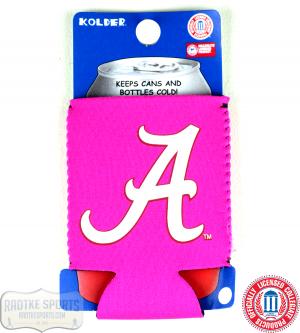 Alabama Crimson Tide Officially Licensed 12oz Neoprene Can Huggie - Pink-0