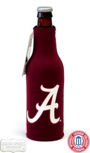 Alabama Crimson Tide Officially Licensed 12oz Neoprene Bottle Koozie-0
