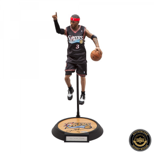 Allen Iverson Signed Enterbay Figurine - Philadelphia 76ers-0