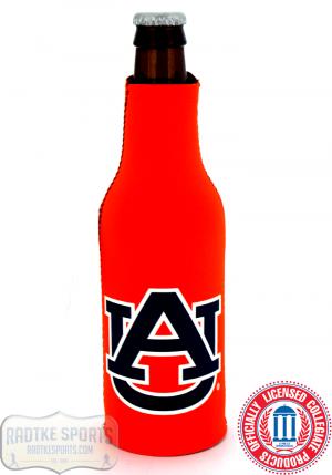 Auburn Tigers Officially Licensed 12oz Neoprene Bottle Koozie-0